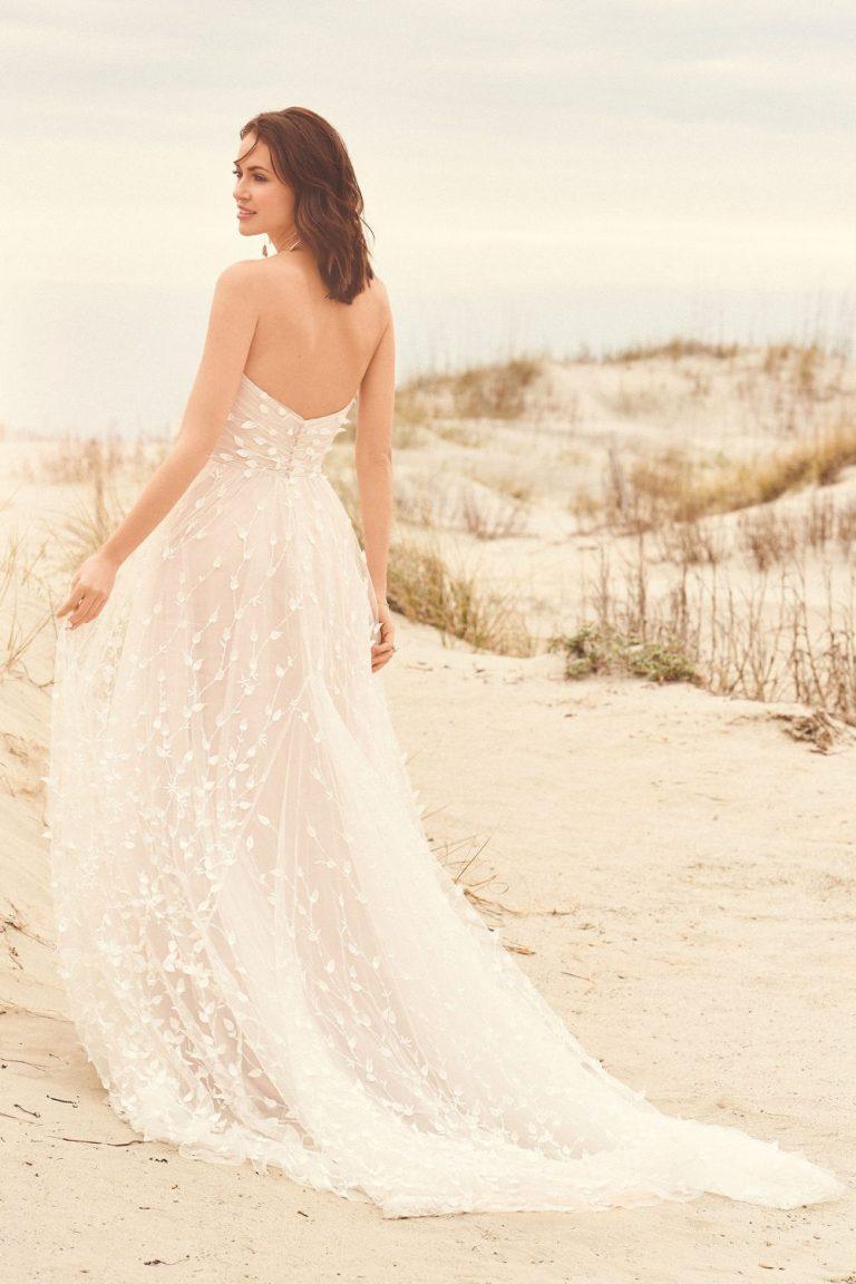 Lillian West 66117bohemian-trouwjurk